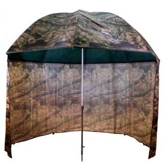 Deštník PVC s prodlouženou bočnicí