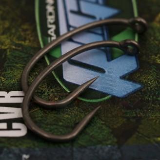 Gardner Háčky Curved Rigga Hooks (CVR) Barbed| vel. 4