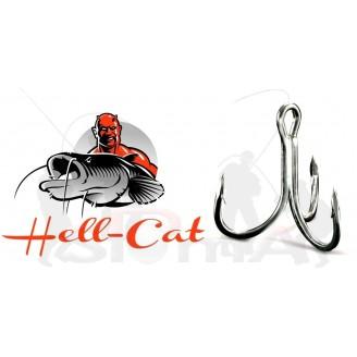 Hell-Cat Trojháček 6X-Strong vel. 3/0 - 5ks