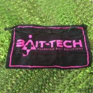 Bait-Tech Ručník Apron Towel - Black and Pink
