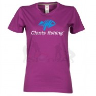 Giants fishing Tričko dámské fialové