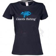 Giants fishing Tričko dámské černé