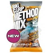 Bait-Tech Krmítková směs Big Carp Method Mix Tiger & Peanut 2kg