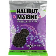 Bait-Tech Pelety bez dírek Halibut Marine 4mm, 900g