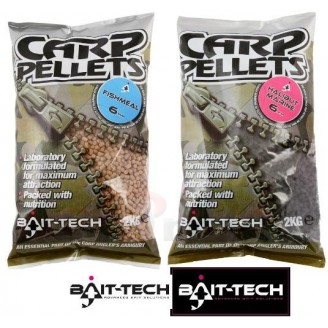 Bait-Tech Pelety Fishmeal Carp Feed Pellets 8mm, 2kg