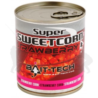 Bait-Tech Kukuřice Super Sweetcorn Strawberry 300g