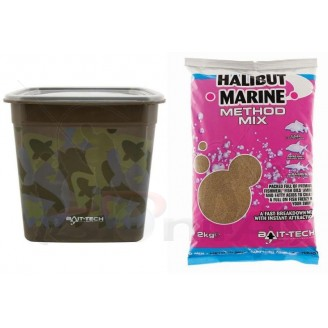 Camo Bucket Halibut Marine Method Mix 3kg