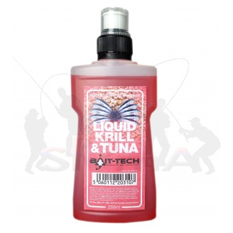 Bait-Tech Tekutá esence Liquid Krill & Tuna 250ml
