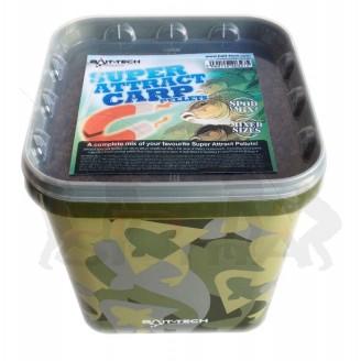 Bait-Tech Peletový mix (kbelík) Super Attract Carp Pellets 3kg