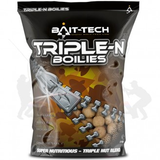 Boilies Triple-N Shelf Life 15mm, 1kg