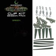 Systémek Covert Clip Kit Pack, zelená