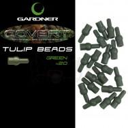 Zarážky Covert Tulip Beads|Brown ( hnědé)