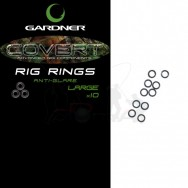 Gardner Kroužky Covert Rig Rings|Large