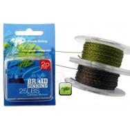 Návazcová šňůrka Carp Braid Sinking 25lbs/20m Camou Green