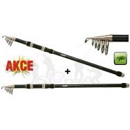 Prut Fluent Tele Carp 3,60m 60-120g AKCE 1+1!
