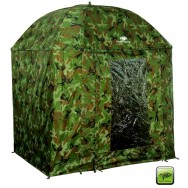 Deštník Full Cover Square Camo Umbrella 250cm
