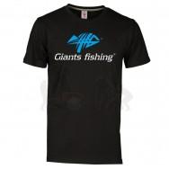 Giants fishing Tričko pánské černé