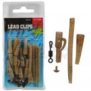 Kompletní sada na boční olovo Lead Clips Complet Camo Set