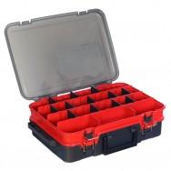Kufřík plastový TB Double Layer ( Red-Grey )