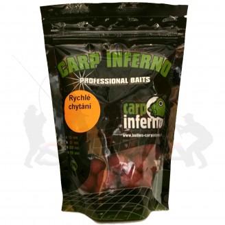 Carp Inferno Boilie rychlé chytání 17 mm 250 g|Banán/oliheň (žlutá)