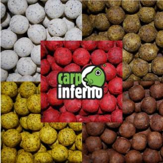 Carp Inferno Boilies Light Line 3 kg|Krab&Oliheň