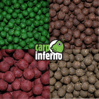 Carp Inferno Boilies Protein line 1 kg 20 mm|Chobotnice&játra