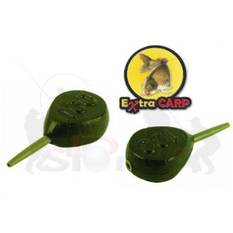 Extra Carp Lead IN-LINE FLAT PEAR 120g