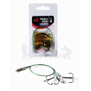 Filfishing Lanko s Trojhákem Treble Hook Leader 2