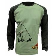 Zfish Tričko Boilie T-Shirt Long Sleeve L