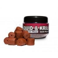 Squid & Krill Hook Pellets  20mm/120g Grapes