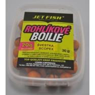 Rohlíkové boilie - 30g 20g ZDARMA! JETFISH