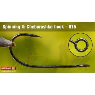 Háček Spinning & Cheburashka hooks 815