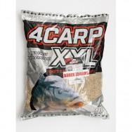 Krmítková směs 4CARP  XXL 5kg  AKCE + obratlíky zdarma!!!
