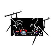 Stojan na tři pruty R.T. Rod Pod Lux 3-Rod  AKCE!!!